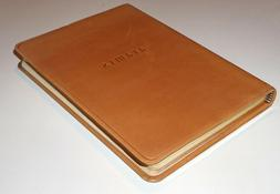 Aramis Leather-bound journal with lined pages