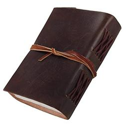 leather cover handmade diary journal