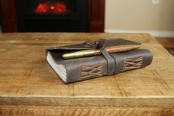 Abundant Hill Leather Journal and Fountain Pen Set