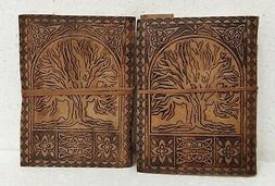 Leather Journal Diary Notebook Blank Travel Notepad Handmade