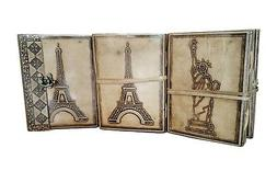Leather Journal Diary Notebook Handmade Blank Unlined Travel