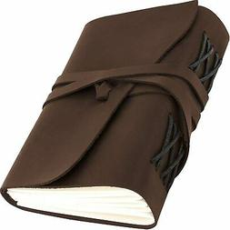 Leather Journal for Men Women - Leather Bound Journal - Genu