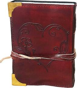 Ruzioon Leather Journal for Women - Beautiful Handmade Leath