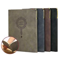 Leather Journal with Pen A5 Classic Lined Notebook for Men a
