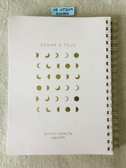 Leather JUST A PHASE Moon Phases Fringe Studio Notebook Jour