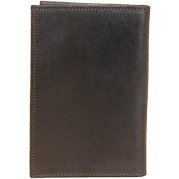 Leather Pocket Journal Refillable Ruled Composition Notebook