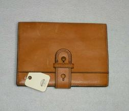 Fossil Natural Leather Covered Diary Book Removable Journal