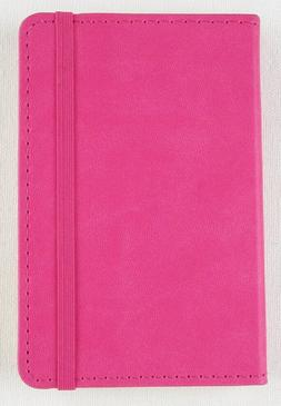NEW Markings by C. R. Gibson Small Pink Leatherette Journal