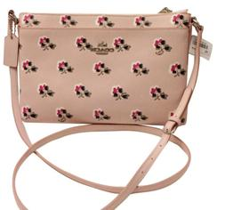 NWT Coach 53358 Journal Crossbody In Floral Printed Leather