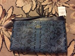NWT COACH JOURNAL CROSSBODY BAG COLORBLOCK EXOTIC EMBOSSED L