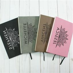Personalized Faux Leather Journals - 13 Styles in 4 Colors!