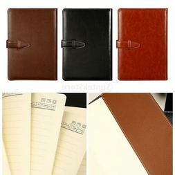 PU Leather Journal Notebook Bound School Office Daily Planne