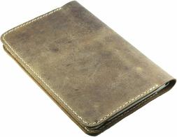 Refillable Leather Journal cover for moleskine classic noteb