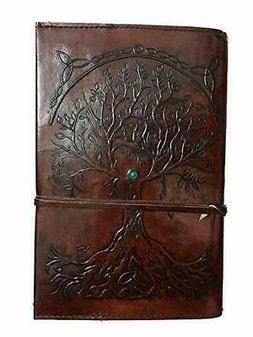 Refillable Leather Journal Writing Notebook, Antique Handmad