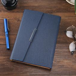 Retro Leather Cover Refillable Notebook Journal Planner Sche