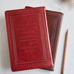 Retro Vintage Leather Cover Journals Retro Notebook Lined Pa
