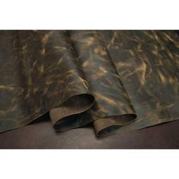 SAGE Full Grain Oil Pull-Up Cowhide Leather for Journals Cra