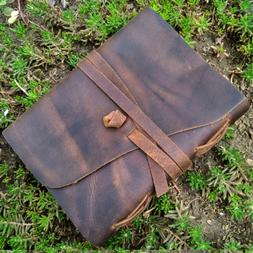 Shrewd Leather Journal to Write in - Genuine Leather Noteboo