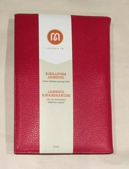Staples Soft Genuine Leather Refillable Journal 18030