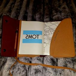 Tom's Leather Bound Journal With Wood Pen