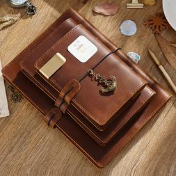 traveler s note cowhide leather cover a5