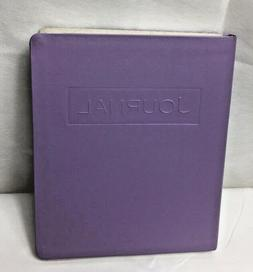 Very Thick Journal Faux Leather Cover Lined Pages - Lilac