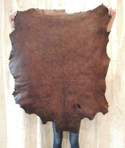 Waxy OLD WEST Full Grain Leather Hide for Native Crafts Buck