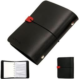 Whole Leather Vintage Notebook Travel Diary Journal Instax P